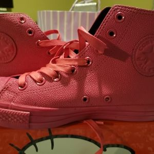 Patent leather converse